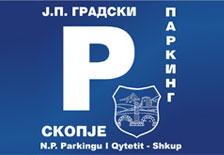 Лого на ЈП Градски паркинг - Скопје