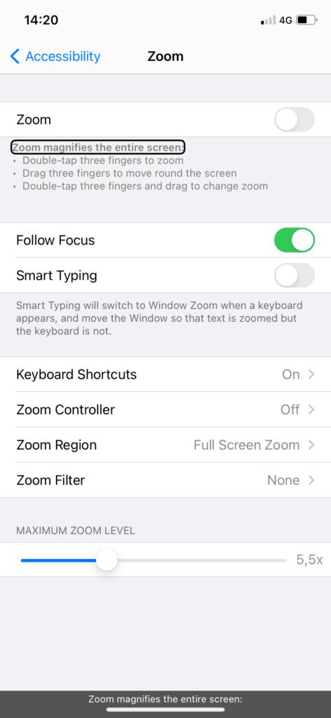 Скриншот од опциите за Zoom