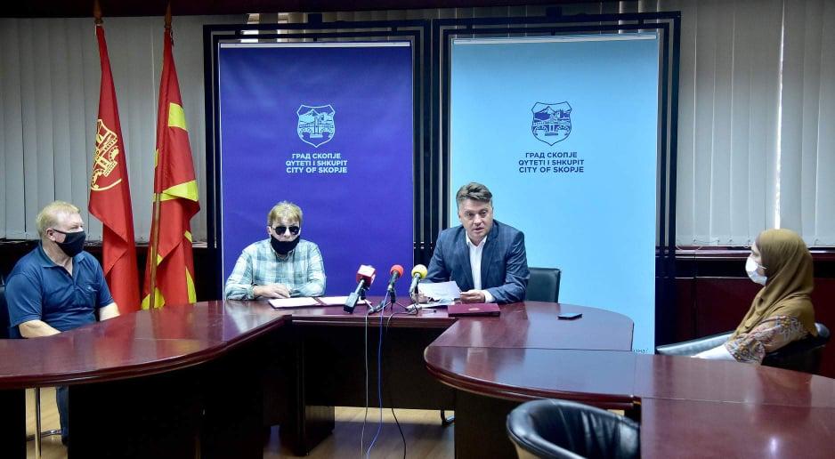 Претседателот Селковски, градоначалникот Шилегов и Мерсиха Смаиловиќ Разговараат за иднината на дневниот центар