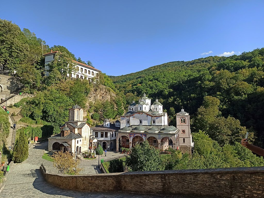 Панорама од манастирот Св. Јоаким Осоговски